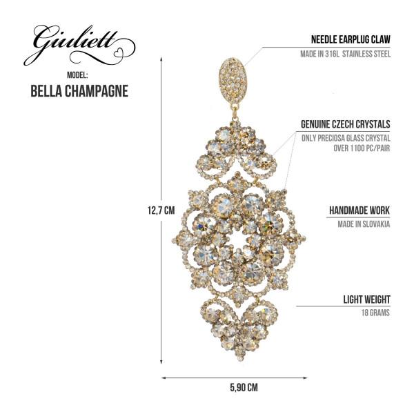 Giuliett Bella Czech Crystal Champagne-135457-20