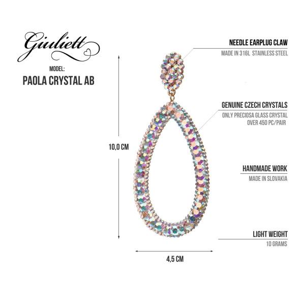 Giuliett Paola Czech Crystal AB-135440-20