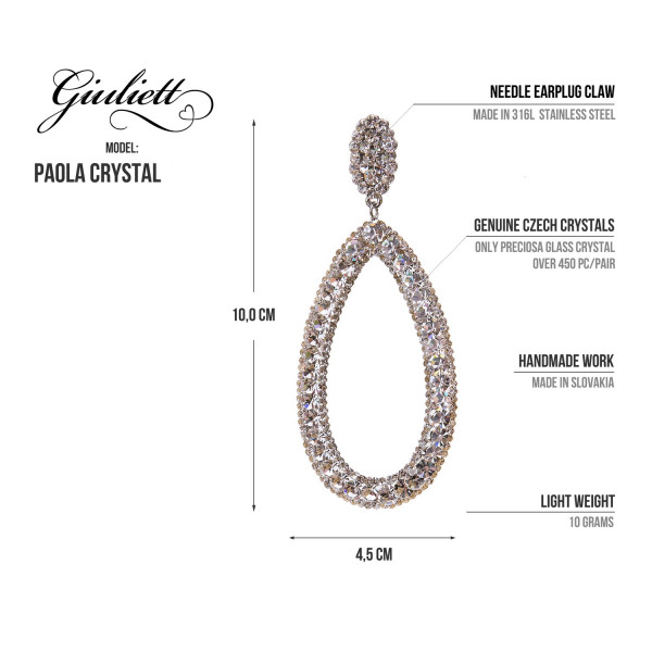Giuliett Paola Czech Crystal Champagne-135443-20