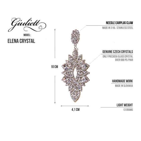 Giuliett Elena Czech Crystal AB-135450-20